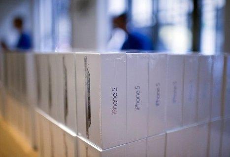 Сюжет: Старт мировых продаж Apple iPhone 5