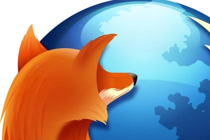 Фрагмент логотипа браузера Firefox