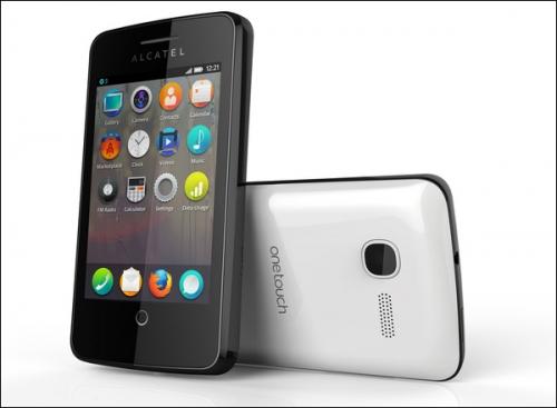 Смартфон Alcatel One Touch Fire (изображение The Verge).