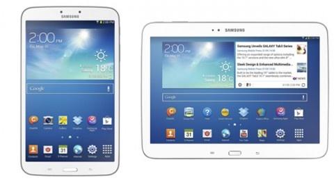 Мобильные новости из сети: Samsung представила Galaxy Tab 3 8.0 и Galaxy Tab 3 10.1