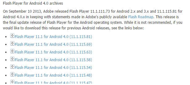 Android - установка и настройка приложений, прошивок и патчей: Устанавливаем Flash Player на Android Jelly Bean 4.0 4.1 4.2