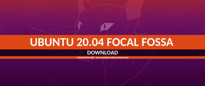 Ubuntu 20.04 – скачать установить обновить